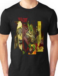 T SHIRT DESIGN: MALLCARBRE COMIC Unisex T-Shirt