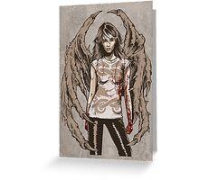 She Demon No.1 - Demons On Our Side. Original Artwork. Greeting Card