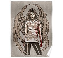 She Demon No.1 - Demons On Our Side. Original Artwork. Poster