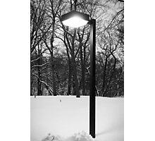 Wintry Incandenscence Photographic Print