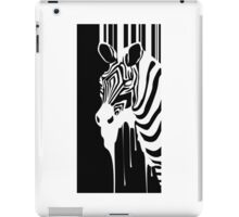 Zebra Melting iPad Case/Skin