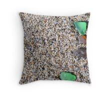 Sea Glass. Throw Pillow