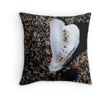 Shell and Sand. Throw Pillow