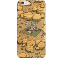 Collect ten flowers for a pavlova picnic iPhone Case/Skin