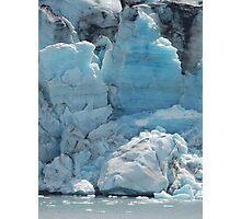 Glacier Ice Photographic Print