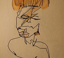 David Bowie by NicolaLeigh