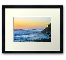 Swami's Sunset Framed Print