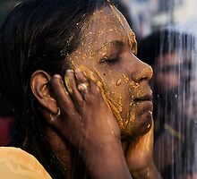 Holy Face Washing by Steven  Siow