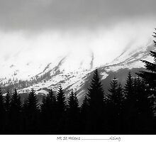 A Looming Storm, Mt St Helen by OutsideShooter