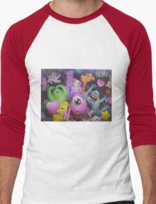 Cute-ma Kappa Men's Baseball ¾ T-Shirt