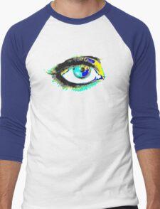 look me in my eye Men's Baseball ¾ T-Shirt