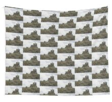 DECAYED CHURCH Wall Tapestry