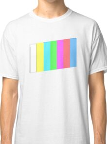 3-dimensional color bars vector image technology Classic T-Shirt