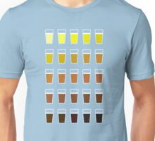 Beers and brews shades of beer Unisex T-Shirt