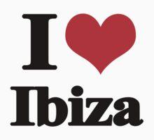 I love Ibiza by Elouisa Georgiou