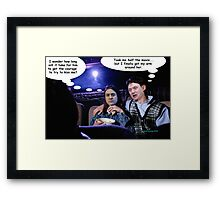 Two Big Eds and a Load of Balls Framed Print