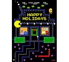 Arcade Holiday Photographic Print