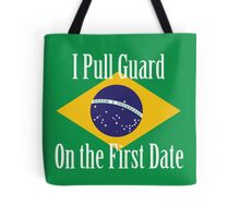 First Date BJJ (White) Tote Bag