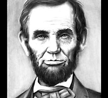 Abraham Lincoln by emizaelmoura