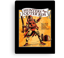 Bounty Hunters of the Outer Rim Canvas Print