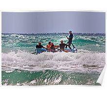 Lorne SLSC surf carnival Feb 2009 (24) Poster