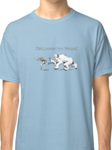 William Shakespeare's Star Wars: Exit, pursued by Wampa Classic T-Shirt