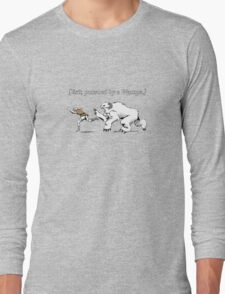 William Shakespeare's Star Wars: Exit, pursued by Wampa Long Sleeve T-Shirt