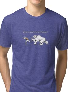 William Shakespeare's Star Wars: Exit, pursued by Wampa Tri-blend T-Shirt