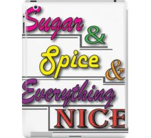 Sugar & Spice iPad Case/Skin