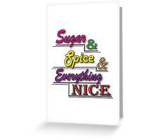 Sugar & Spice Greeting Card
