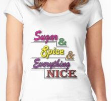 Sugar & Spice Women's Fitted Scoop T-Shirt