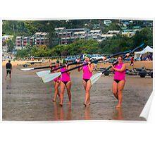 Lorne SLSC surf carnival Feb 2009 (25) Poster