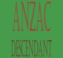 Anzac Descendant by scholara
