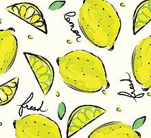 Lemons, Fresh Lemons by Damaris Aguilera