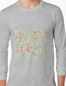 Fight Like A Magical Girl Long Sleeve T-Shirt