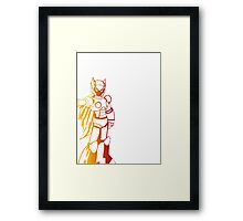 Zero from Megaman (Second Variation) Framed Print