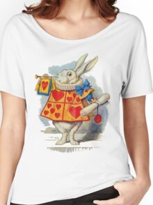 Alice in wonderland Rabbit Women's Relaxed Fit T-Shirt