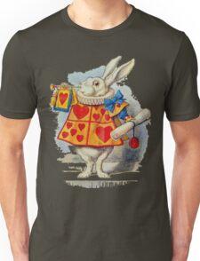 Alice in wonderland Rabbit Unisex T-Shirt
