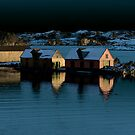 Boathouses by Per E. Gunnarsen