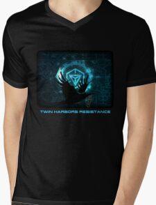 Twin Harbors Resistance Mens V-Neck T-Shirt