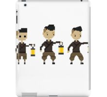 Pixel hero iPad Case/Skin