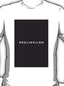Destination Minimalist Black & White Tee T-Shirt