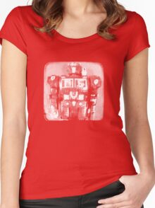 Do the Robot - TTV Women's Fitted Scoop T-Shirt