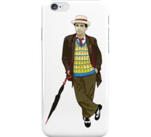 The 7th Doctor - Sylvester McCoy iPhone Case/Skin