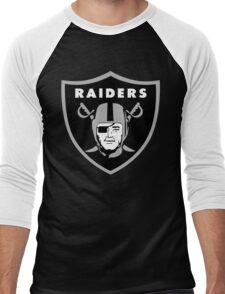 Ice Cube Raiders Men's Baseball ¾ T-Shirt