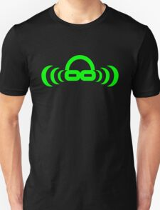 Dj atomic Green logo no URL Unisex T-Shirt