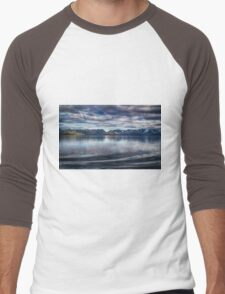 Fjord Beauty Men's Baseball ¾ T-Shirt