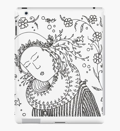 Spring girl iPad Case/Skin