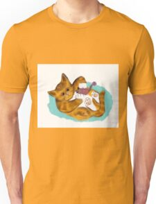 Kitten's Fuzzy Mouse Toy Unisex T-Shirt