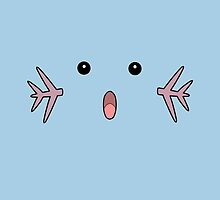 Wooper Face by alienaviary